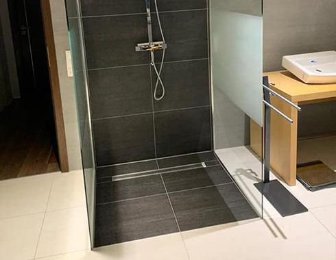 Badezimmer, verlegen, Hemer, dusche, modern, dicht
