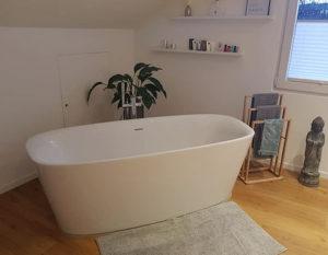 Badezimmer, neu, hemer