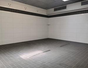 Badezimmer, duschraum, auftrag