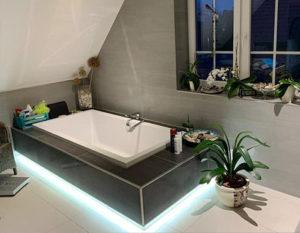 Badezimmer, verlegen, Hemer, renovieren, LED, modern