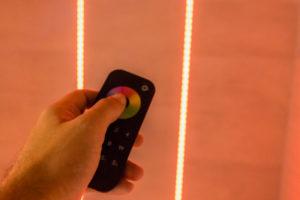 LED, fliesen dusche, einbau, umschalten, fernbedienung
